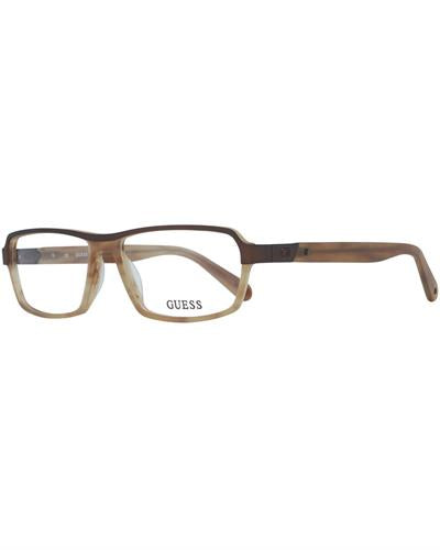 Guess GU1790 55D96 Brand New Eyeglasses  Brown metal and  Brown plastic