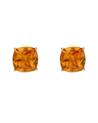 Brand New Earring with 2.88ctw citrine 14K Yellow gold
