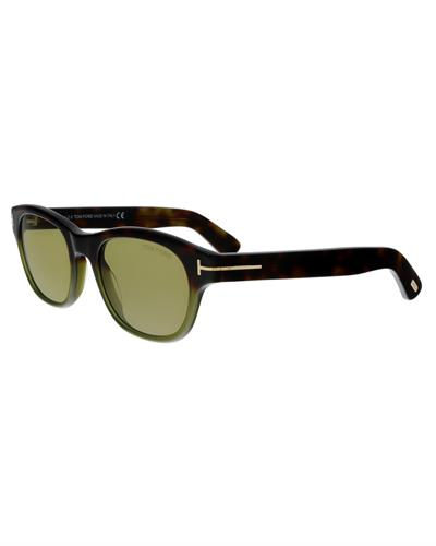 Tom Ford FT0530 55N O'keefe Brand New Sunglasses  Multicolor plastic