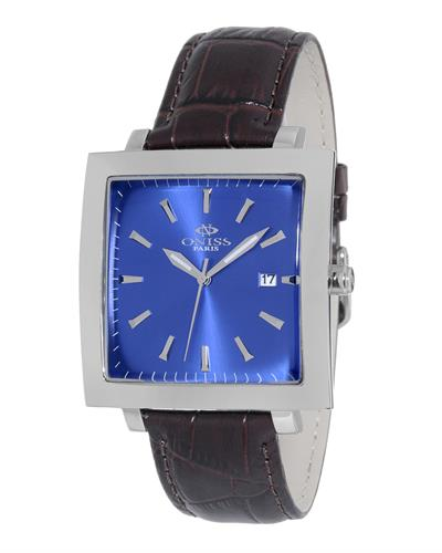 Oniss ON4444-MBU PARIS Brand New Japan Quartz date Watch