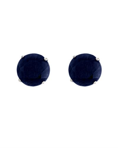 Brand New Earring with 1.4ctw sapphire 14K White gold