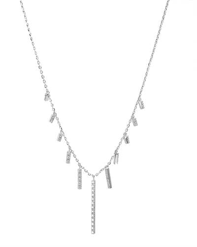 Brand New Necklace with 0.23ctw diamond 14K White gold