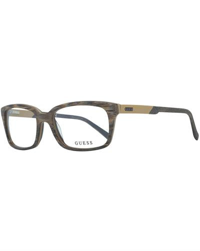 Guess GU1846 54K57 Brand New Eyeglasses  Brown plastic