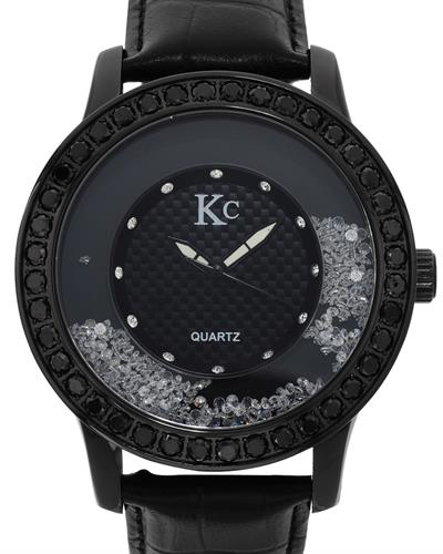 KC WA006400 Brand New Quartz Watch with 6ctw of Precious Stones - crystal and diamond