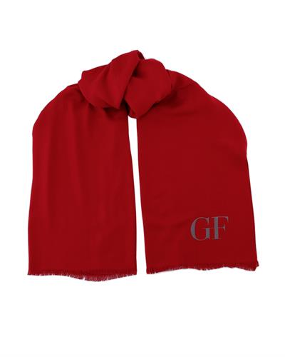 Gianfranco Ferre PSM 00001 Col.007 Brand New Scarf  Red Viscose