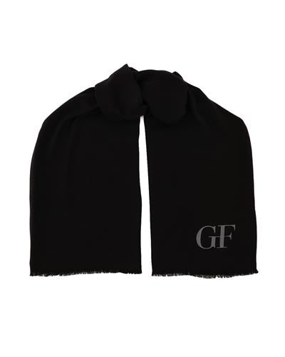 Gianfranco Ferre PSM 00001 Col.025 Brand New Scarf  Black Viscose