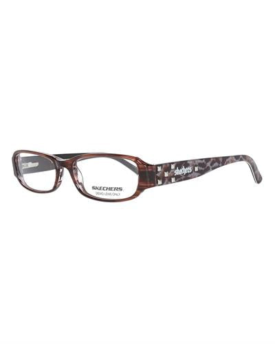 Skechers 2011-Robrn Brand New Eyeglasses  Brown plastic