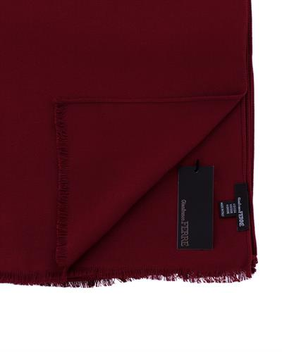 Gianfranco Ferre PSM 00001 Col.028 Brand New Scarf  Burgundy Viscose