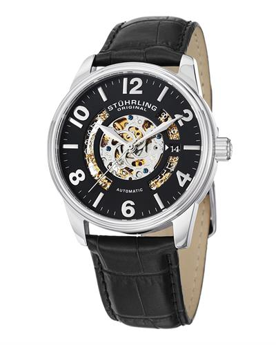 STUHRLING ORIGINAL 649.01 Legacy Brand New Automatic date Watch