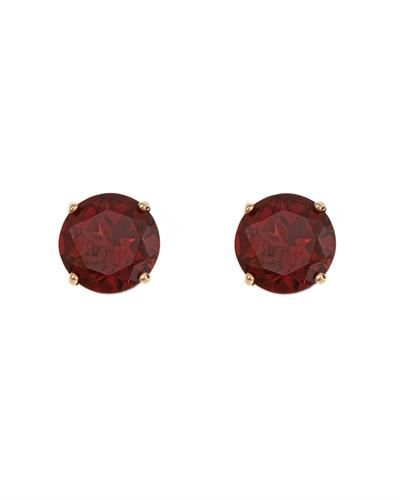 Brand New Earring with 1.2ctw garnet 14K Yellow gold