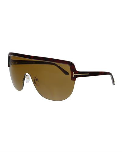 Tom Ford FT0560 54E Angus-02 Brand New Sunglasses  Multicolor plastic