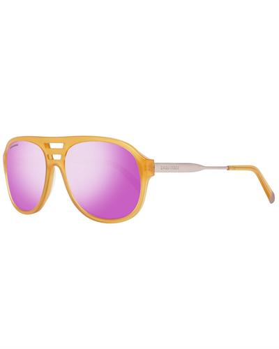 Dsquared2 DQ0185 5839Z Brand New Sunglasses  Yellow metal and  Yellow plastic