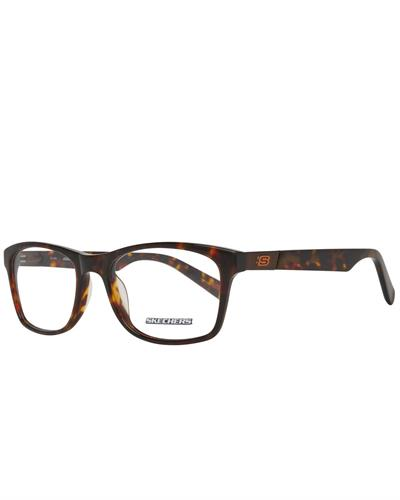 Skechers SE3160 54052 Brand New Eyeglasses  Brown plastic