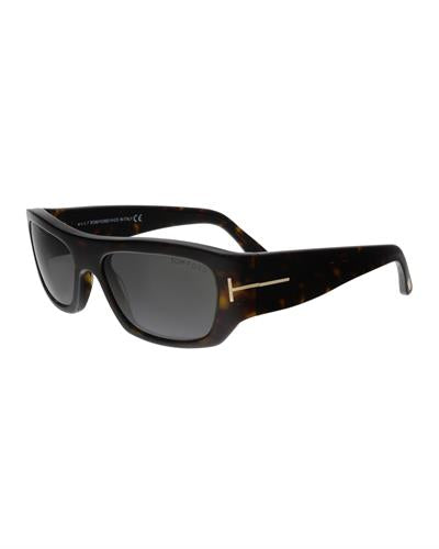 Tom Ford FT0593 52A Rodrigo-02 Brand New Sunglasses  Havana plastic
