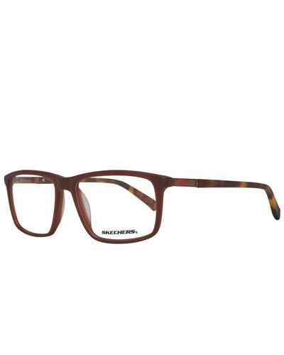 Skechers SE3162 55049 Brand New Eyeglasses  Brown plastic