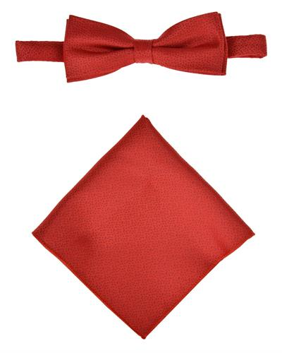 Victorio Brand New Tie  Red Cotton and  Red Polyester
