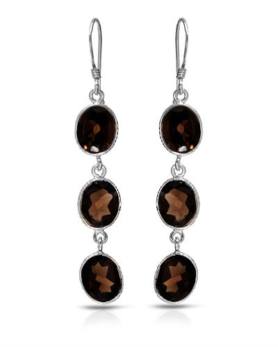 Brand New Earring with 14.4ctw topaz 925 Silver sterling silver