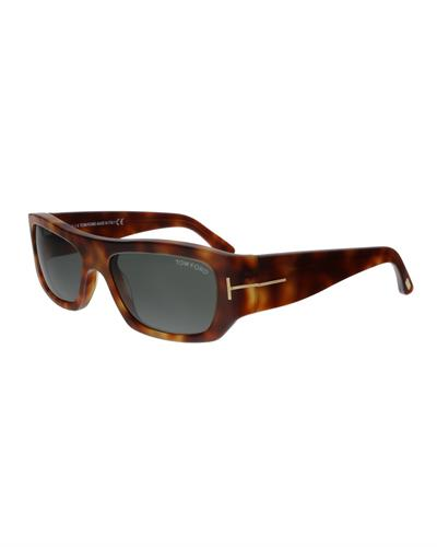 Tom Ford FT0593 53N Rodrigo-02 Brand New Sunglasses  Havana plastic