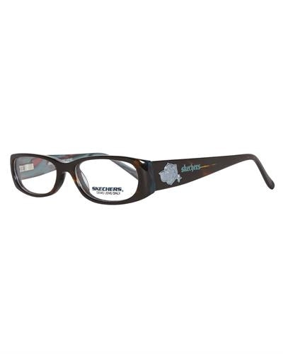 Skechers 2021-Tohrn Brand New Eyeglasses  Brown plastic