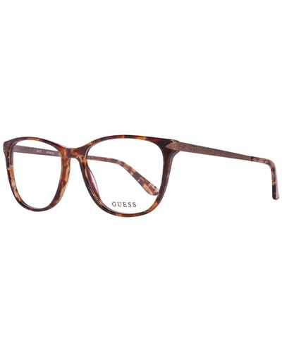 Guess GU2684 55056 Brand New Eyeglasses  Brown metal and  Brown plastic