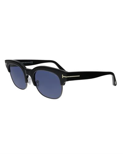 Tom Ford FT0597 01V Harry-02 Brand New Sunglasses  Black metal