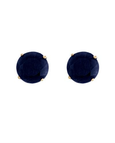 Brand New Earring with 1.4ctw sapphire 14K Yellow gold