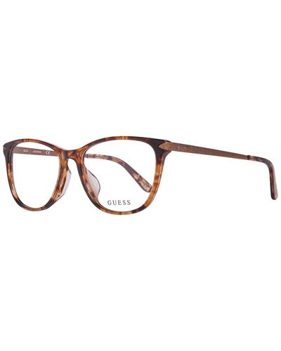Guess GU2684-F 55056 Brand New Eyeglasses  Brown metal and  Brown plastic
