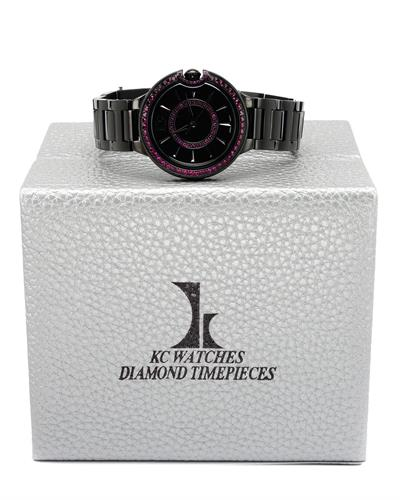 KC WA006206 Brand New Quartz Watch with 2.25ctw ruby