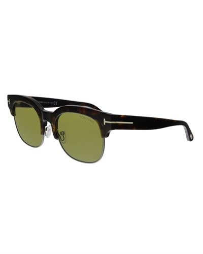 Tom Ford FT0597 52N Harry-02 Brand New Sunglasses  Havana metal