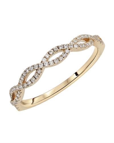 Brand New Ring with 0.19ctw diamond 14K Yellow gold