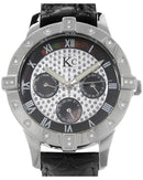 KC WA006422 Brand New Quartz day date Watch with 0.1ctw of Precious Stones - diamond and mother of pearl