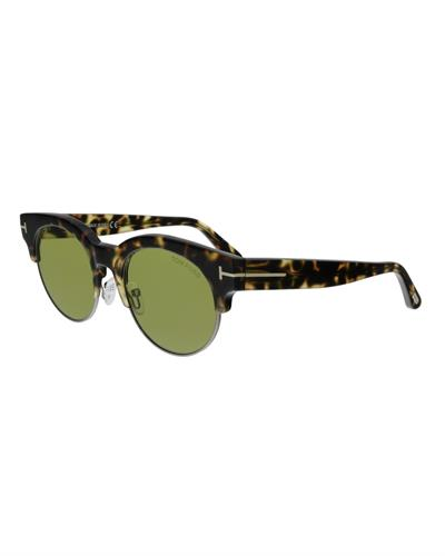Tom Ford FT0598 55N Henri-02 Brand New Sunglasses  Multicolor metal