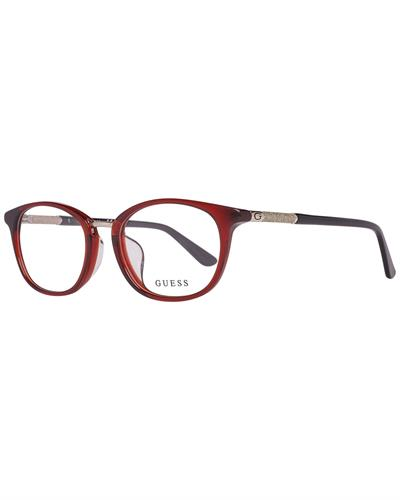 Guess GU2689-D 51069 Brand New Eyeglasses  Red plastic
