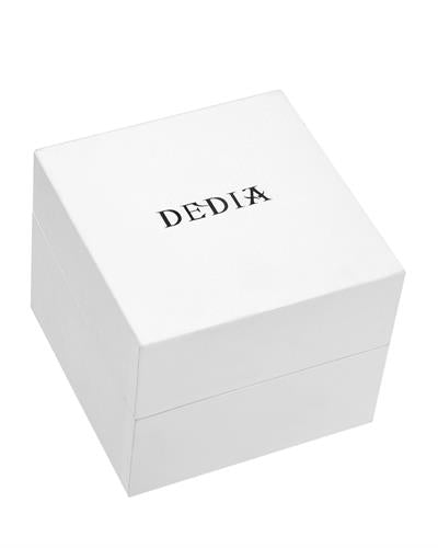 DEDIA 6201LL024 Lily L Brand New Swiss Movement Watch with 0.08ctw of Precious Stones - diamond and mother of pearl