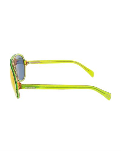 Diesel DL0075/S 95U Brand New Sunglasses  Green plastic
