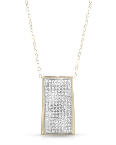 Brand New Necklace with 0.5ctw diamond 10K Yellow gold