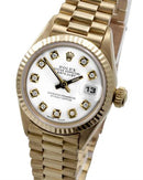 Rolex 69178 PreOwned Automatic date Watch with 0.1ctw diamond
