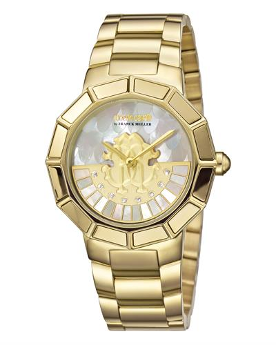 Roberto Cavalli RV2L011M0086 Brand New Quartz Watch with 0.04ctw diamond