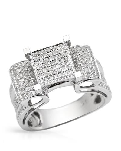 Lundstrom Brand New Ring with 1ctw diamond 10K White gold