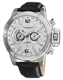 Akribos XXIV AK469WT Brand New Swiss Quartz day date Watch