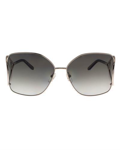 Chloe CE135/S 744 Brand New Sunglasses  Two tone metal