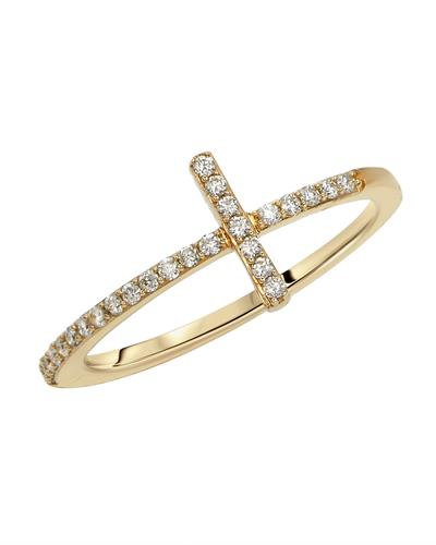 Brand New Ring with 0.18ctw diamond 14K Yellow gold