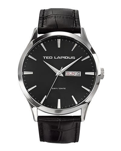 Ted Lapidus 5124203 Classic Brand New Quartz day date Watch