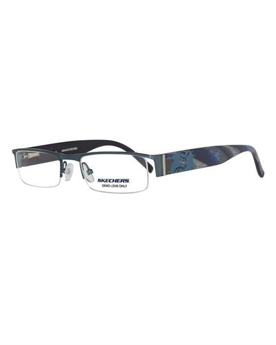 Skechers 3022-Sbl Brand New Eyeglasses  Blue metal and  Blue plastic