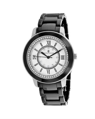 Christian Van Sant Clay Brand New Quartz Watch with 0ctw crystal
