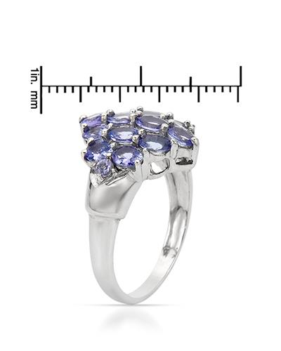 Brand New Ring with 2.4ctw tanzanite 925 Silver sterling silver