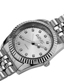 AUGUST Steiner AS8046 Brand New Japan Quartz date Watch with 0.06ctw diamond