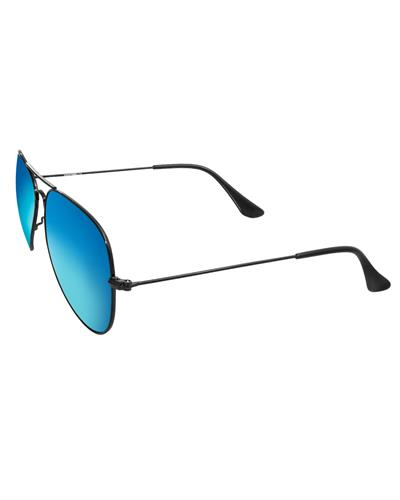 AQS OLV007 Teal Oliver Brand New Sunglasses  Black metal