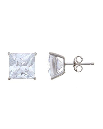 Brand New Earring with 0ctw cubic zirconia 925 Silver sterling silver