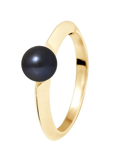 Ateliers Saint Germain Brand New Ring with 0ctw pearl 9K Yellow gold
